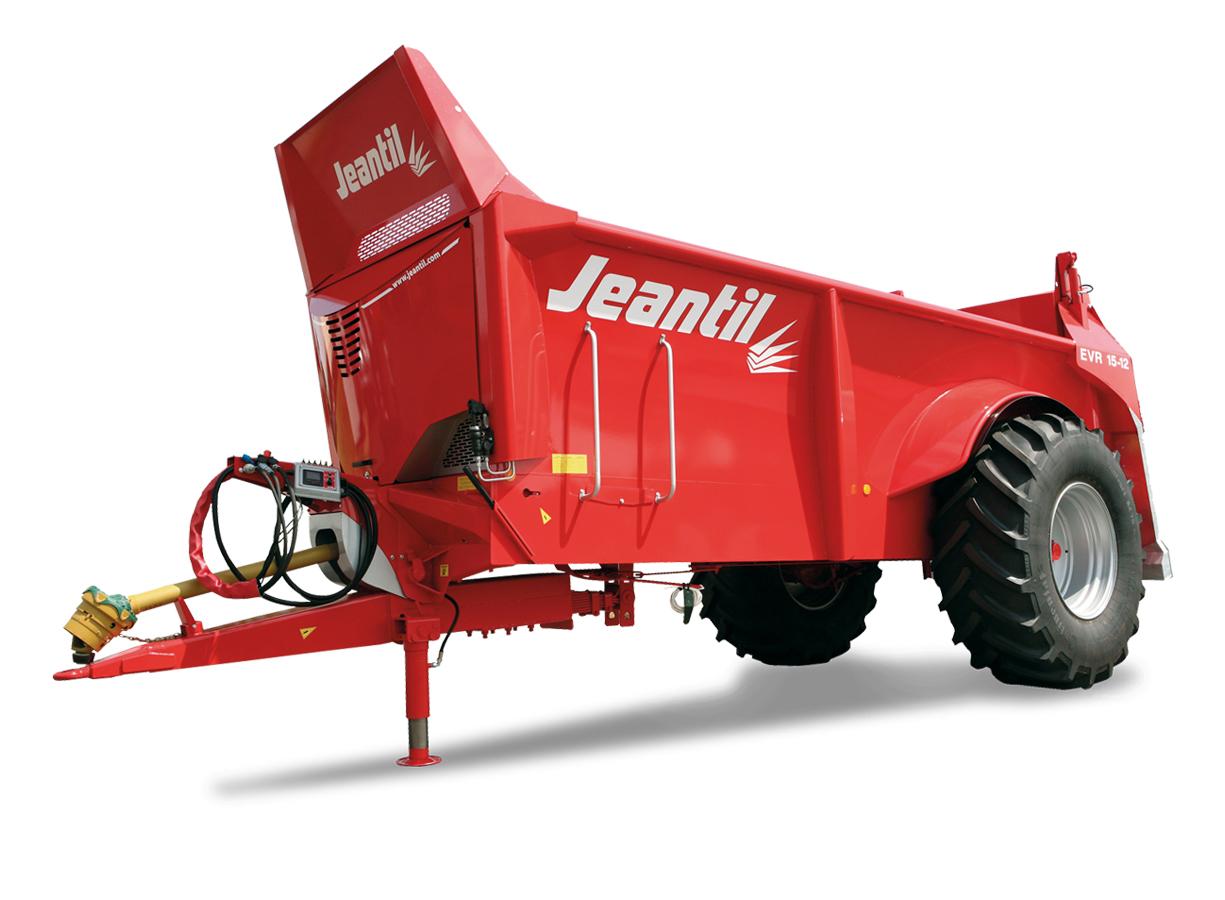 Fastgödselspridare - Jeantil