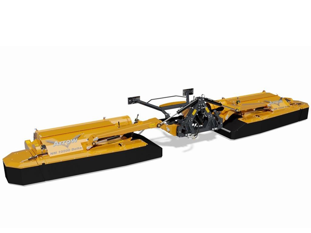 Slåttermaskiner med kross- Elho