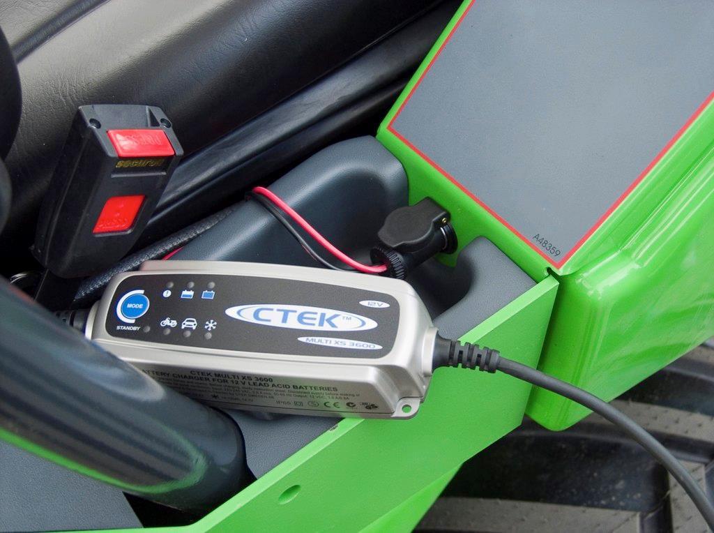 (U) Batteriladdare 12V uttag