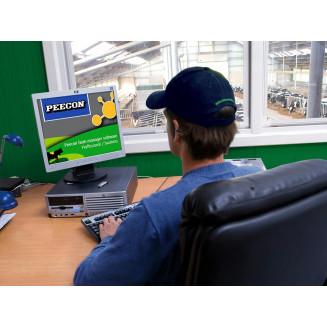 Peecon Professional Network feedmanagement Mjukvara via trådlös anslutning till pc (1000 m)