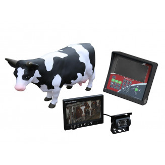 Actionpaket - extra radiostyrd display (backspegelsystem med kamera)