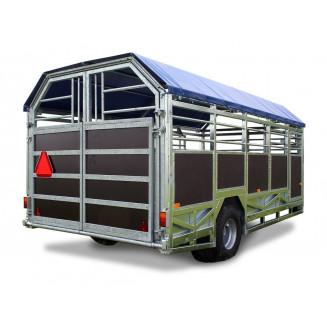 JYFA kreatursvagn modell bred, 5m