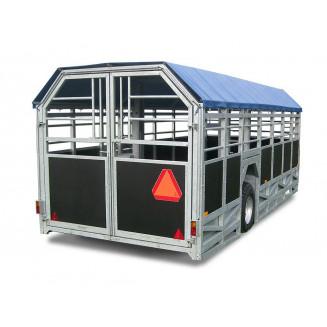 JYFA kreatursvagn modell bred, 6m