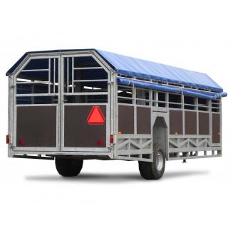 JYFA kreatursvagn modell bred, 7m
