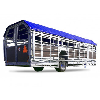 JYFA kreatursvagn modell bred, 8m
