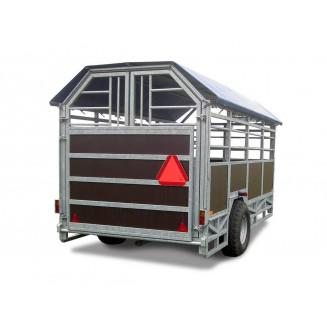 JYFA kreatursvagn modell smal, 4m