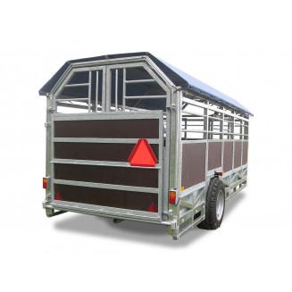 JYFA kreatursvagn modell smal, 5m