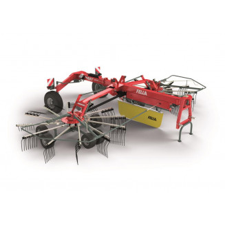 Fella strängläggare Juras 8055PRO mittläggare med 2 rotorer
