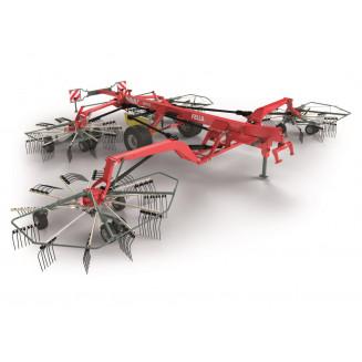 Fella strängläggare Juras 12545PRO mittläggare med 4 rotorer