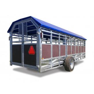 JYFA kreatursvagn modell hydraulik, 6m