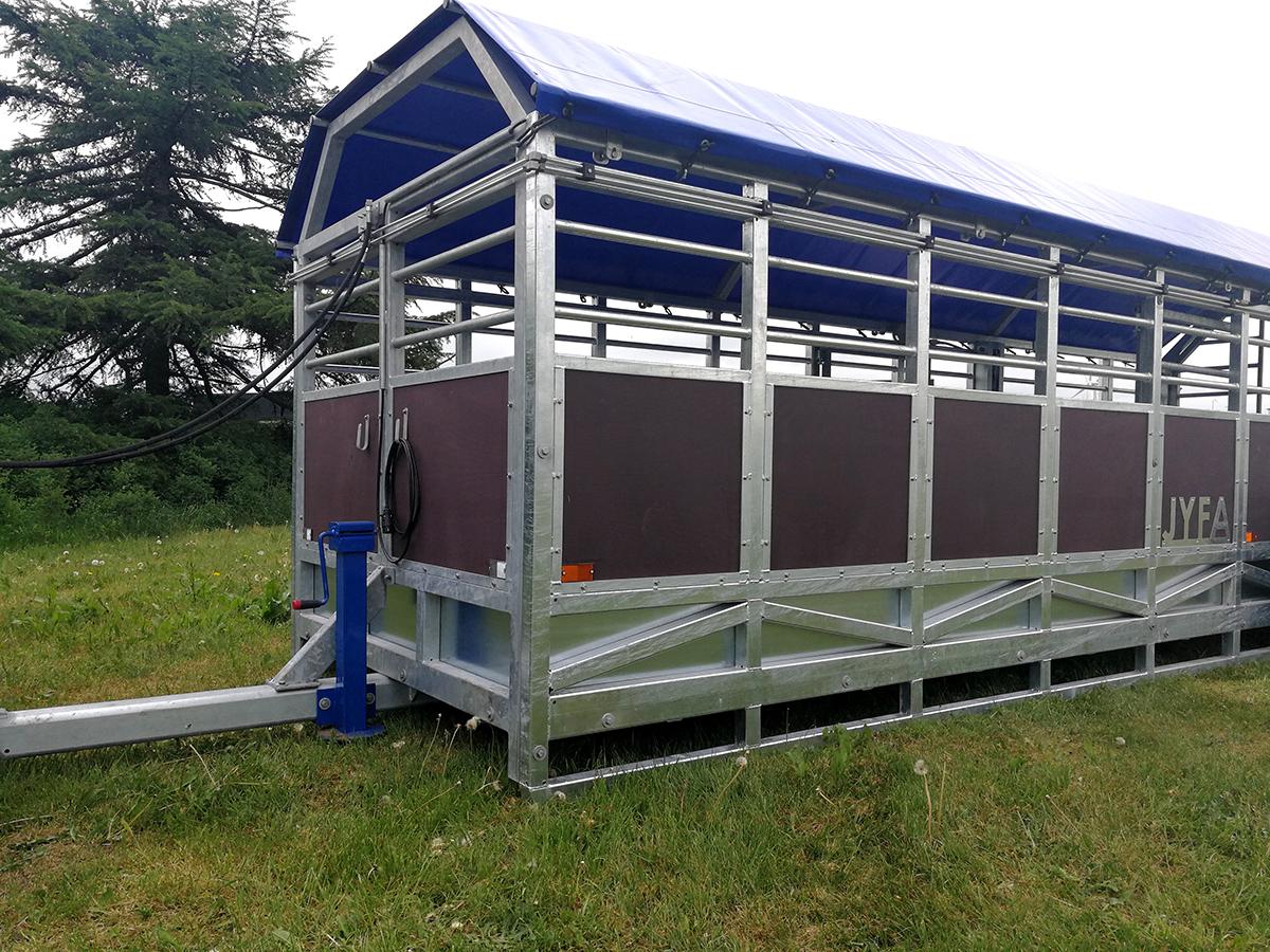 Jyfa kreatursvagn hydraulisk modell, höj- och sänkbar