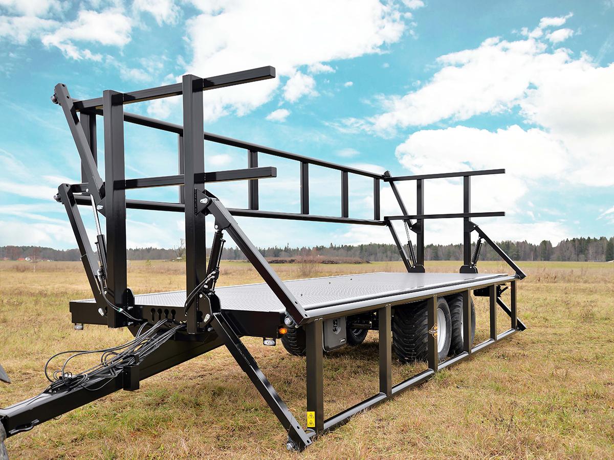 Palmse Trailer balvagn B3750 med grindar
