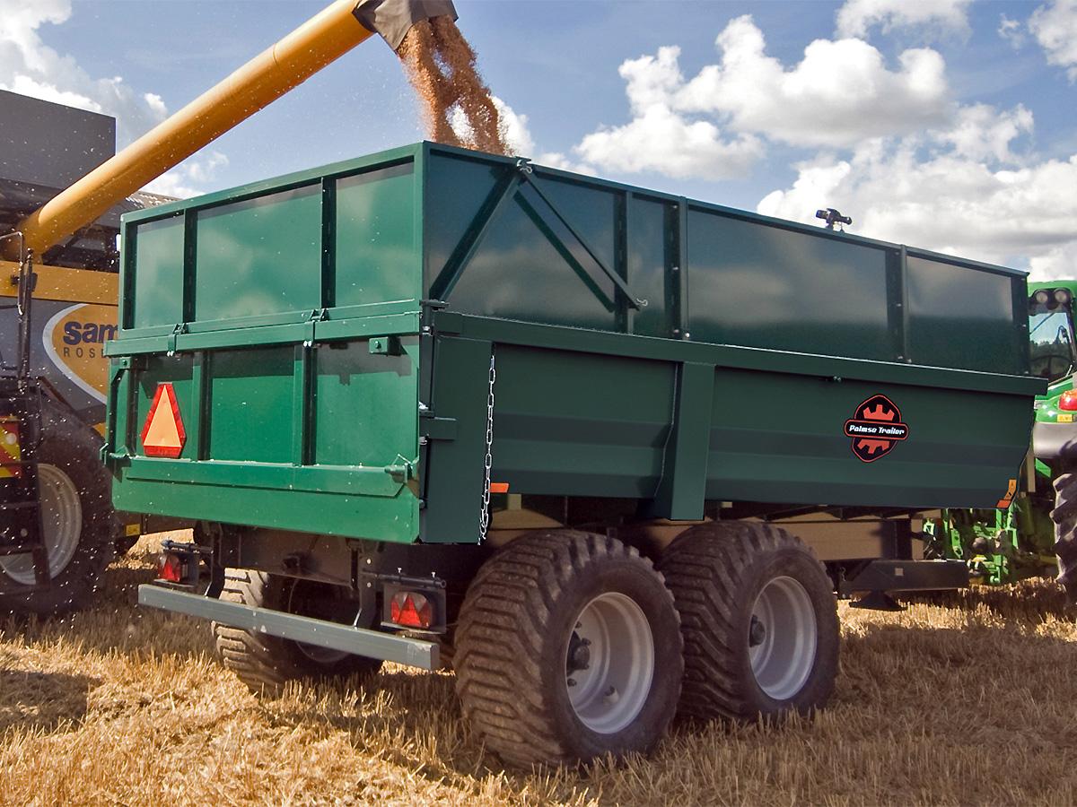Palmse Trailer dumpervagnar har många tillval