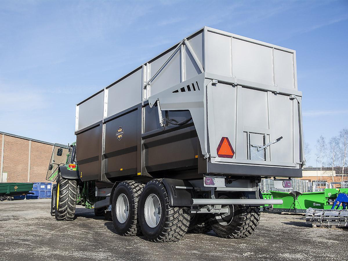 Palmse Trailer volymvagn D1725 extrautrustad