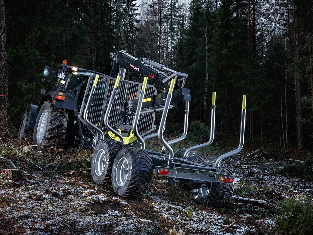 Palms skogsvagnar 15D