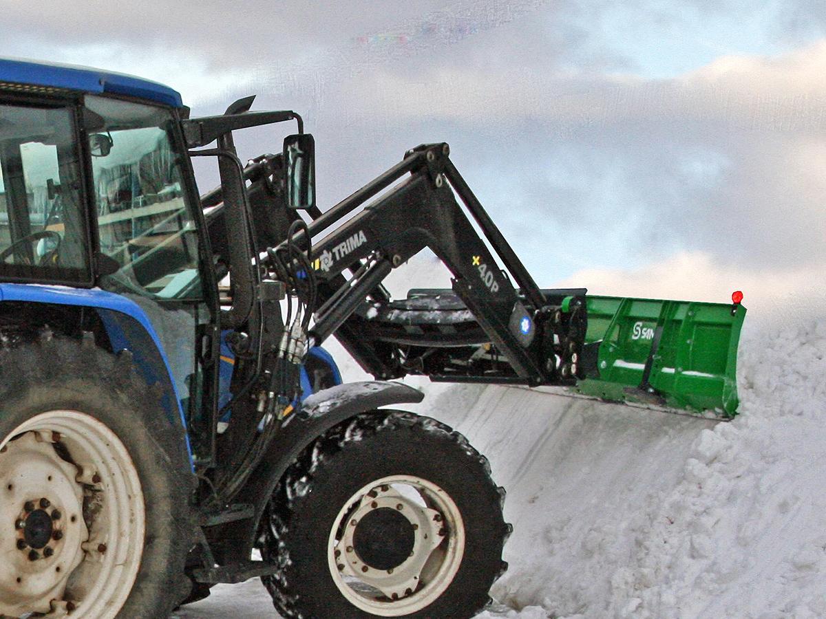 SAMI frontblad med traktor